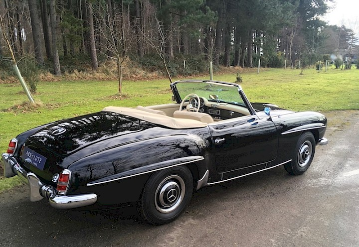 Mercedes-Benz 190SL - SOLD 2