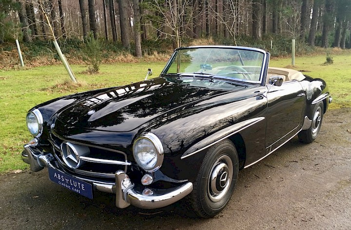 Mercedes-Benz 190SL - SOLD 4