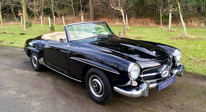 Mercedes-Benz 190SL - SOLD 1