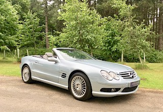 Mercedes SL 55 AMG - SOLD
