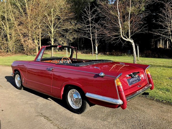 Triumph Vitesse Convertible - SOLD 3