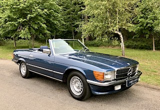 Mercedes-Benz 500SL - SOLD