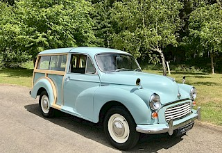 Morris Minor Traveller - SOLD